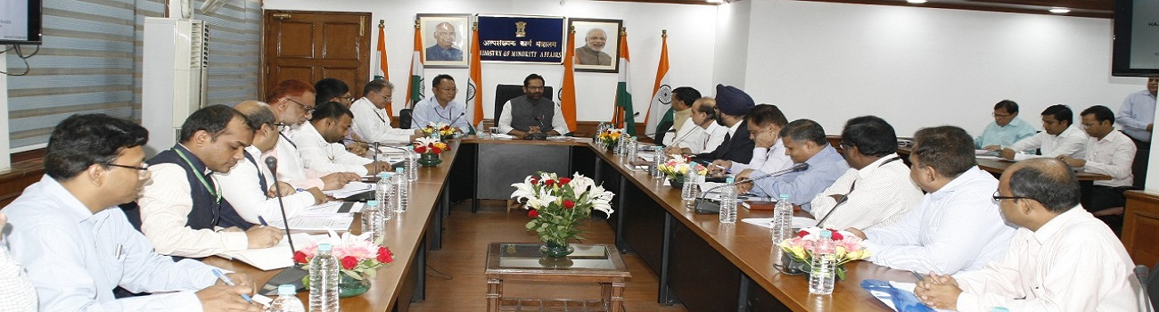 Haj review meeting was held on 3rd october 2018 at Antyodaya Bhawan. Senior officials from Minority Affairs Ministry, External Affairs, Civil Aviation, Health Ministry and Haj Committee of India and Indian Consulate in Saudi Arabia attended the meeting.