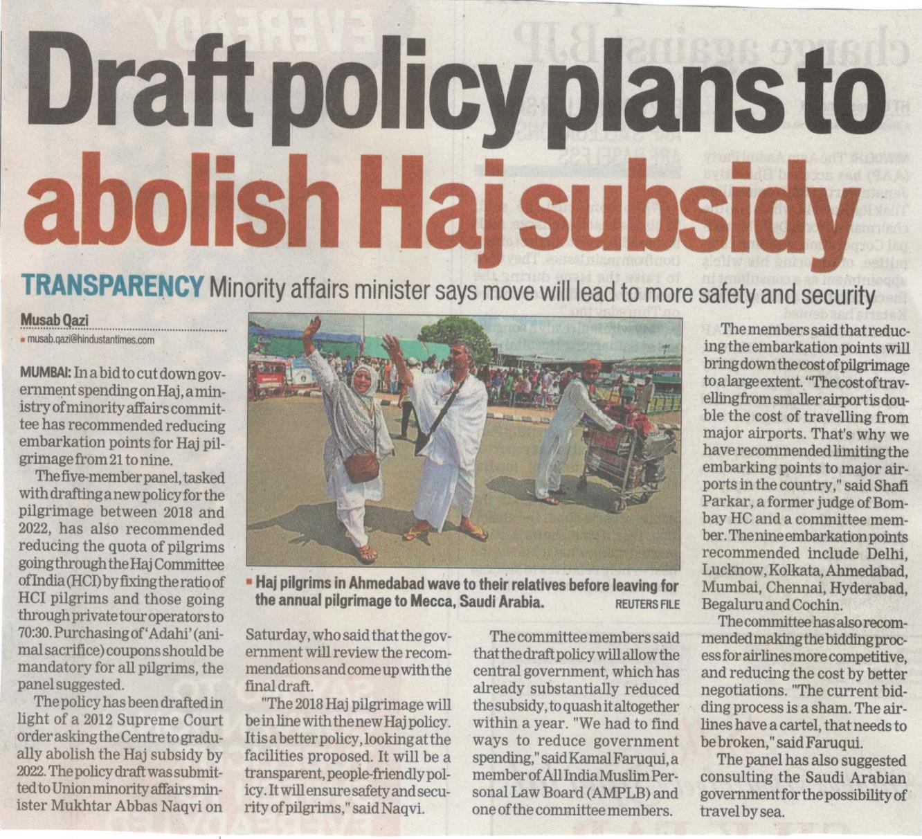 HT Policy