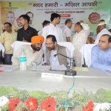 Participated in cleanliness drive in Rampur with UP Minister Sh Baldev Aulakh. Swacch Bharat Abhiyan, Clean India, Healthy India.Inaugurated Govt. inter colleges, additional classrooms, girls hostels, constructed under MsDP scheme