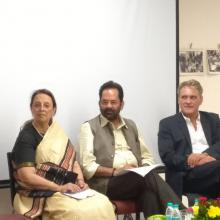 Launched The Parsis of India Continuing at the crossroads book at Mumbai.