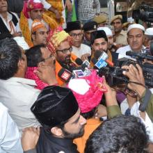 Today offered 'Chadar' on behalf of PM Shri Narendra Modi at dargah of Sufi Saint Hazrat Khwaja Moinuddin Chishti at Ajmer Sharif on 806th annual Urs.