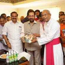 Inaugurated Jubilee Ayurveda Mission Hospital at Thrissur, Kerala.I hope that the institute will play an important role in the field of medical and research.
