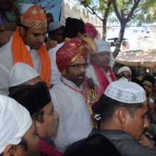 oday offered Chadar of PM Shri Narendra Modi at Ajmer Sharif Dargah of Khwaja Moinuddin Chishti, symbol of Indias great spiritual