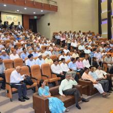 Inaugurated workshop of Inspecting Authorities of MAEF. Also launched MAEF grant-in-aid scheme portal.PM Shri Narendra Modi Govt moving ahead for transformation through transparency and efficiency.