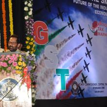 The Minister of State for Minority Affairs (Independent Charge) and Parliamentary Affairs, Shri Mukhtar Abbas Naqvi addressing the Anglo Indian community meeting, in New Delhi on January 13, 2017