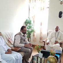 Today met George Alencherry, his grace Cardinal & Major Arch Bishop of Diocese of Ernakulam at Kochi & discussed empowerment of Christians.