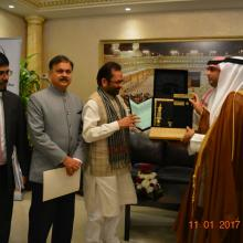 Bilateral agreement for Haj 2017 between India-Saudi Arabia with Haj Minister of Saudi Arabia H.E. Dr Mohammad Saleh Benten at Jeddah